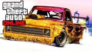 GTA 5 ONLINE - LA NEIGE EST DE RETOUR ! (Blague de Rockstar Game) #gta #dlc #blague