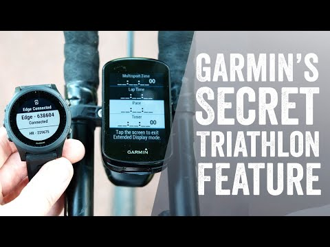 How to: Garmin's Semi-Secret Triathlon Display Mode (aka
