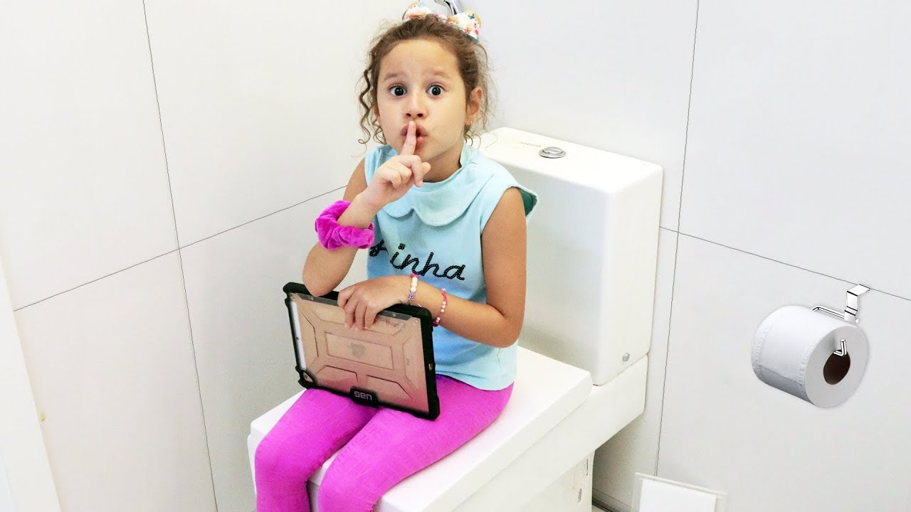 A menina que se escondia para não fazer a tarefa de casa