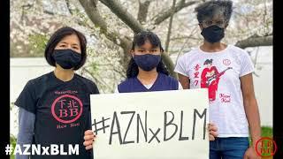 #AZNxBLM: Star Spangled Sakura (Anthem for Unity) by ShimoKita Bam Bam