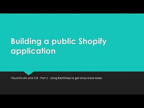Build a Shopify Web App - Part 2 Get Token