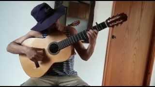 "Falseta ""Romero Verde"" de Lole y Manuel - muy lento"