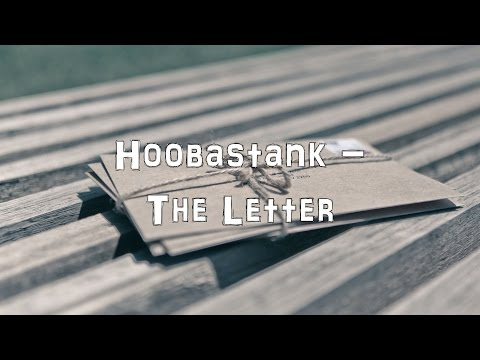 Hoobastank - The Letter [Acoustic Cover.Lyrics.Karaoke]