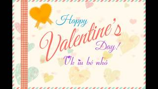 Thiệp Valentine cho Vk