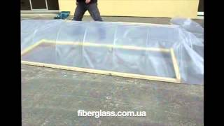 Парник-теплица из стеклопластиковой арматуры(http://fiberglass.com.ua/index.php?id=23 самодельная теплица из стеклопластиковой арматуры и полиэтиленовой пленки., 2015-01-09T01:58:04.000Z)