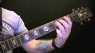 The Beast And The Harlot Guitar Tutorial By Avenged Sevenfold A7X