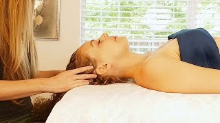Ultra Relaxing Face & Scalp Massage Tutorial by Meera, ASMR Soft Spoken with Relaxation Music