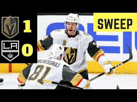 Vegas Golden Knights VS Los Angeles Kings Game 4 l April 17th 2018 l