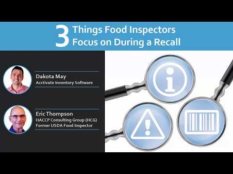 3 Things Food Safety Inspectors Focus on During a Recall