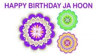 JaHoon   Indian Designs - Happy Birthday