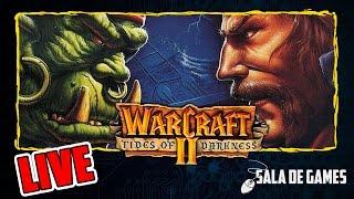 Warcraft II | Jogos antigos de PC | LIVE | PT BR