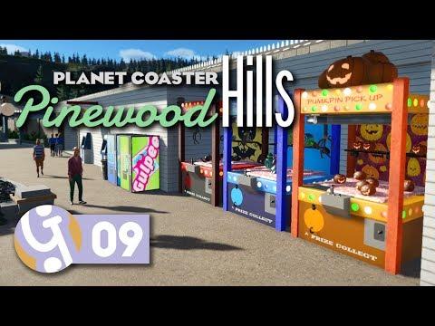 Amusement Arcade   Pinewood Hills   Let's Play Planet Coaster #09