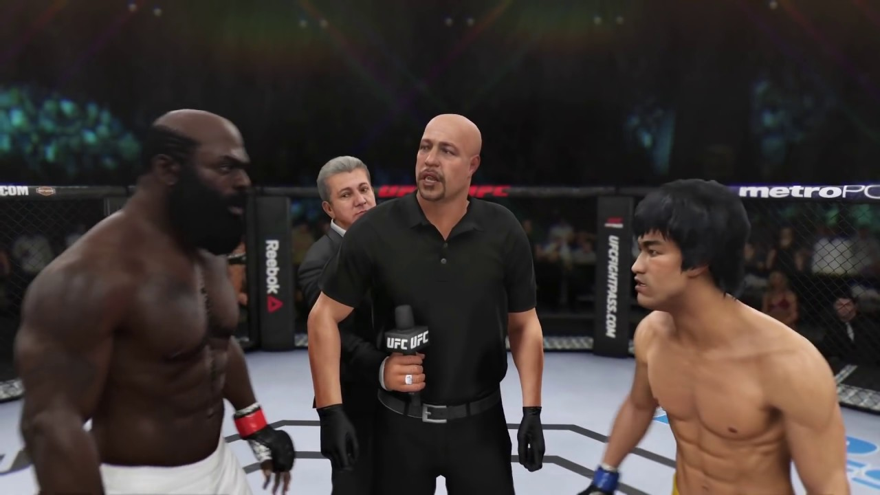 Kimbo Slice vs. Bruce Lee (EA sports UFC 3)