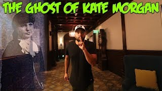 Spending 24 Hours in the Most HAUNTED HOTEL in the WORLD! THE GHOST OF KATE MORGAN