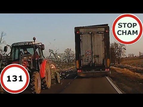 Stop Cham #131 – Niebezpieczne i chamskie sytuacje na drogach