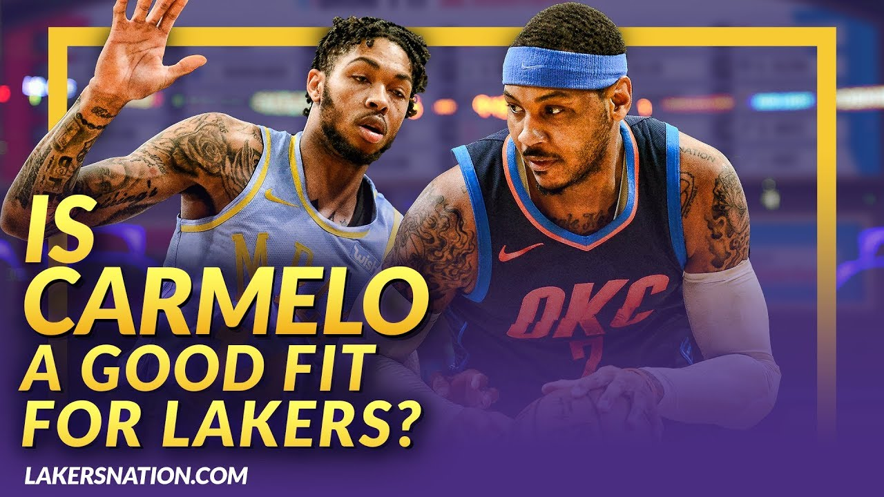 e54acd4bc066 BREAKING  Lakers Interested In Signing Carmelo Anthony - YouTube