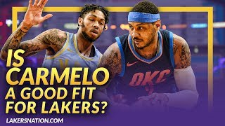 BREAKING: Lakers Interested In Signing Carmelo Anthony