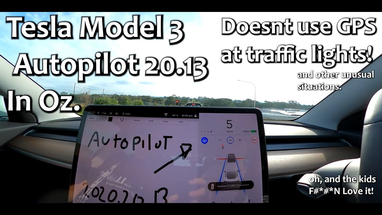 Tesla Model 3 Autopilot, doesn't use GPS for traffic ...