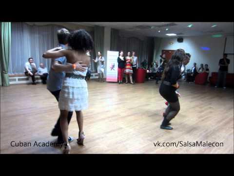 Танец победителей конкурса Salsa Casino с Йоанди и Дианой