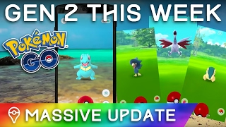 POKÉMON GO GEN 2 UPDATE CONFIRMED ✦ NEW POKÉMON COMING TO POKÉMON GO