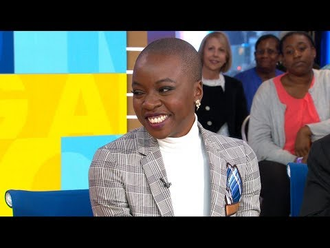 Danai Gurira says she's moved by global impact of 'Black Panther'