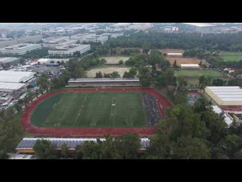 UAM-Azcapotzalco -- A air view