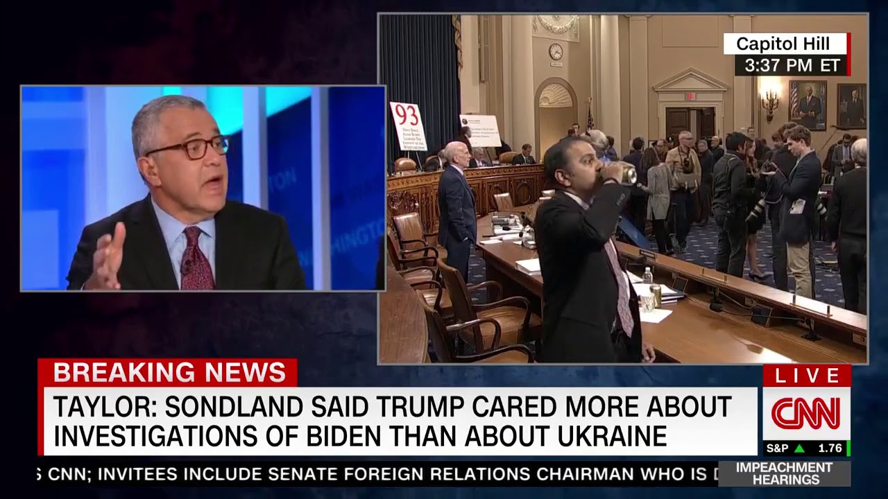 CNN�s Toobin: Neither Witness �Had Direct Contact W/ The President�That�s A Problem�