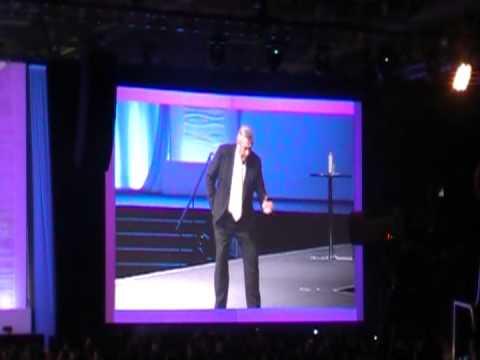 John Maxwell. International Leadership Convention. Salt Lake City. April, 2012.