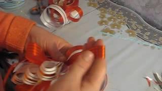 Большой букет треугольного типа. Бант. Часть 1(Бант для букета треугольного типа - весь курс полностью на сайте http://buketsvoimirukami.ru/ - Букет своими руками., 2011-10-31T15:41:16.000Z)