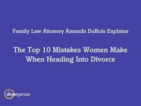 The top ten seattle divorce mistakes seattle divorce attorney the top ten seattle divorce mistakes seattle divorce attorney amanda dubois solutioingenieria Choice Image