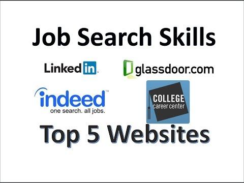 Job Search Skills – Top 5 Job Websites