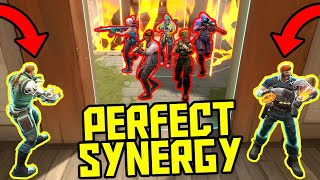 18 MINUTES OF PERFECT SYNERGY  VALORANT