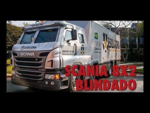 Scania 8X2 Blindado