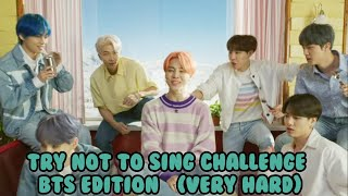 [KPOP GAME]!!! TRY NOT TO SING CHALLENGE BTS EDITION [VERY HARD]