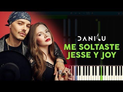 Me soltaste - Jesse y Joy - Piano cover/tutorial