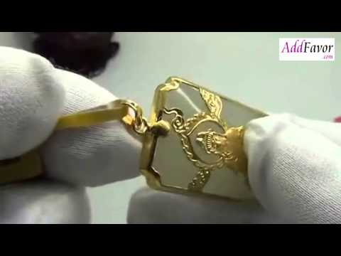 Chinese Gold Pendant Necklace Guan Yin  Addfavor com