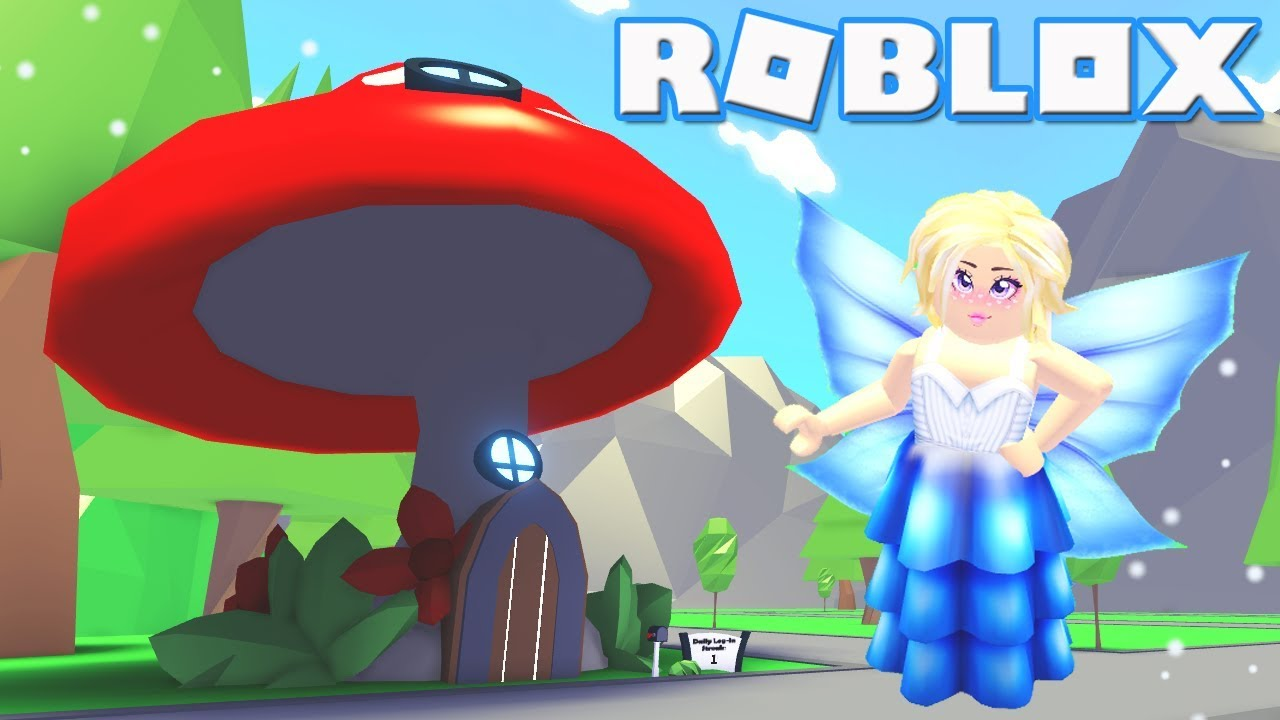 Roblox Fairy Fairy Update Roblox Fairy Adopt Me Fairy House Furniture Youtube