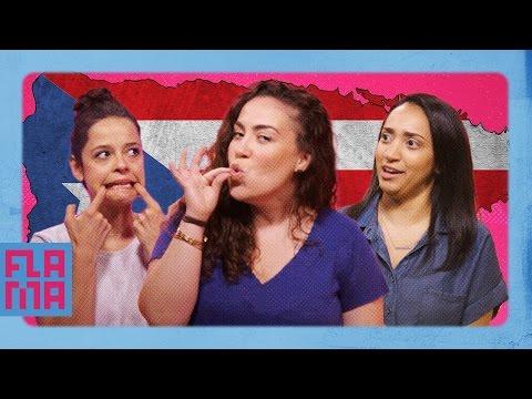Latinos Guess Puerto Rican Slang