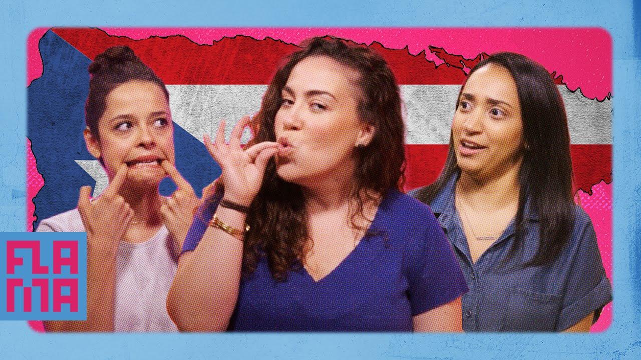 Latinos Guess Puerto Rican Slang Youtube