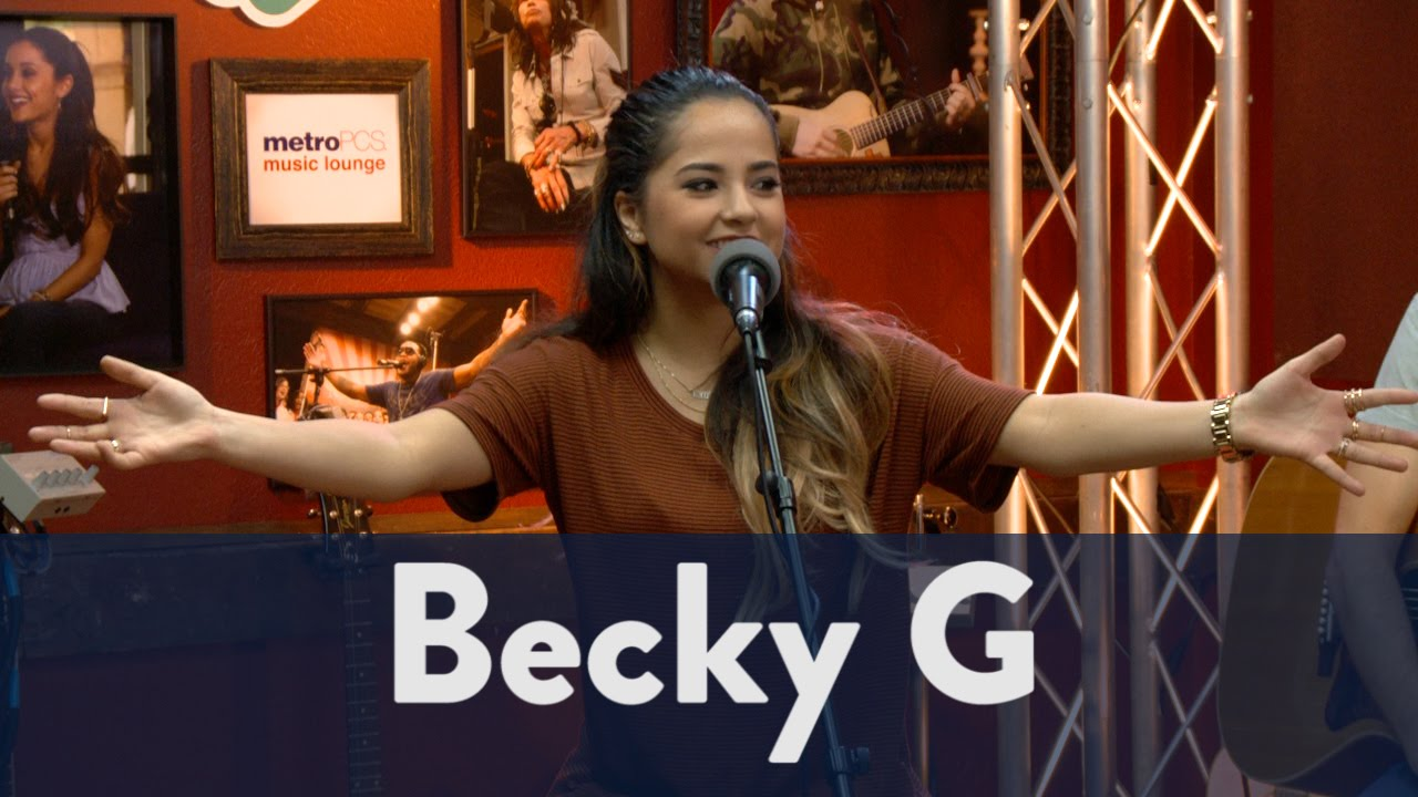 fabaa2a4f49a9c Becky G Talks About Becky's Bootcamp | KiddNation 3/6 - YouTube