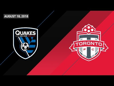 HIGHLIGHTS: San Jose Earthquakes vs. Toronto FC | August 18, 2018