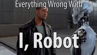 Repeat youtube video Everything Wrong With I Robot In 14 Minutes Or Less