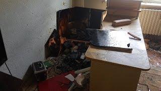 Пожар в девятиэтажке на Суворова в Бресте