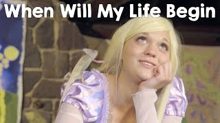 Disney Princess Rapunzel - When Will My Life Begin - In Real Life