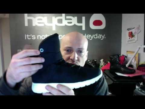 Heyday Footwear Black Ninja Super Freak Cardio Sneaker Walk Through