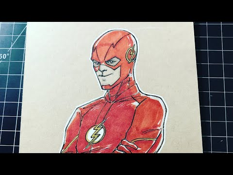 How to Draw: The Flash (Grant Gustin)