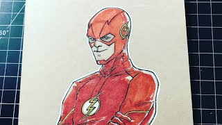 How to Draw: The Flash CW