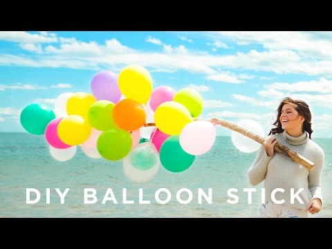 MAKE YOUR OWN | MILEY'S BALLOON STICK