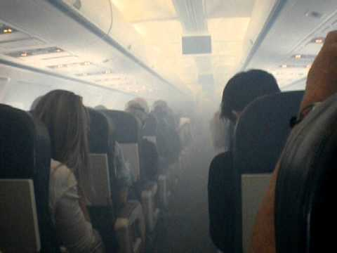 Síndrome aerotóxica: vídeo US Airways Flight 432