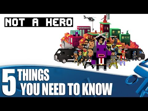 Not A Hero on PS4 - 5 Things You Need To Know